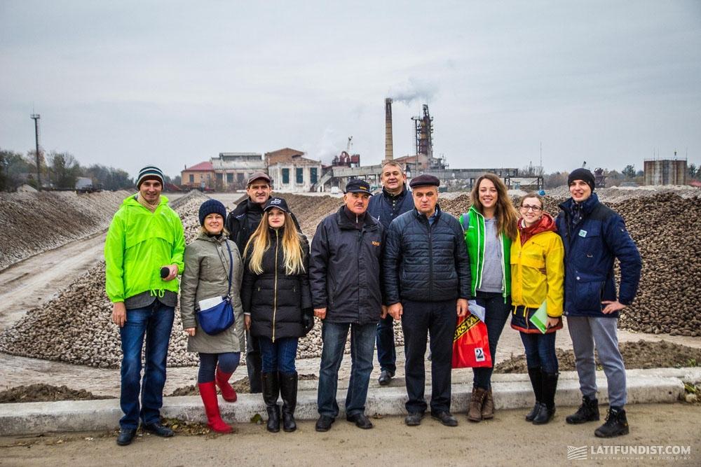 АгроЭкспедиторы на Ильинецком сахарном заводе
